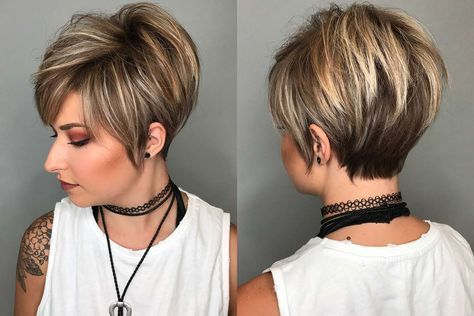 Trending Woman Short Haircut Style In 2020 Stylish Short Hair Short Hair Pictures Short Hair Styles