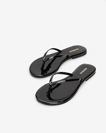 Shiny Flip Flops | Shoes, Women shoes