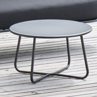 Jan Kurtz Beistelltisch Sunderland Stahl Pulverbeschichtet Schwarz Matt Ca O 65 X 40 Cm Beistelltisch Tisch Stahl