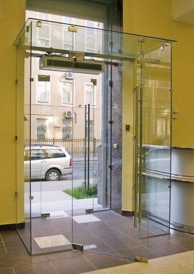 входная дверь в помещение