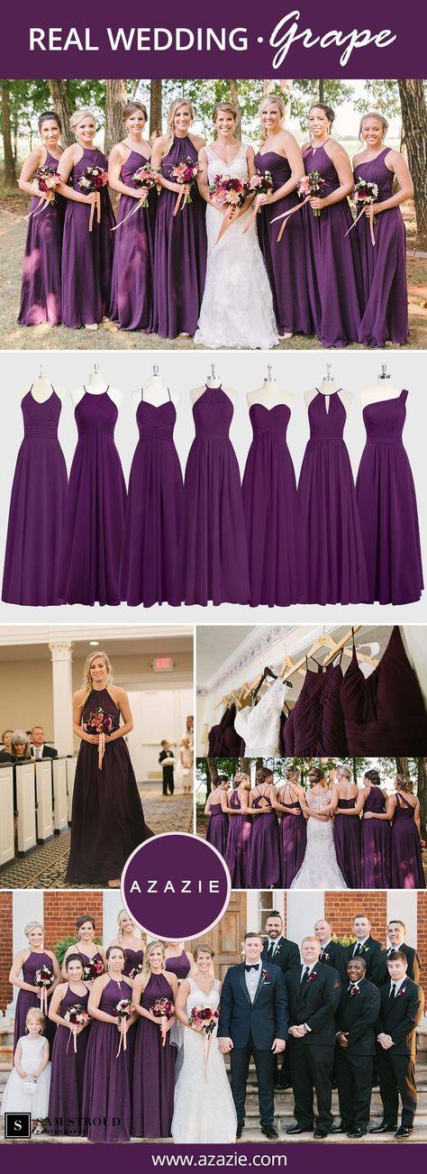Grape Bridesmaid Dresses | Azazie