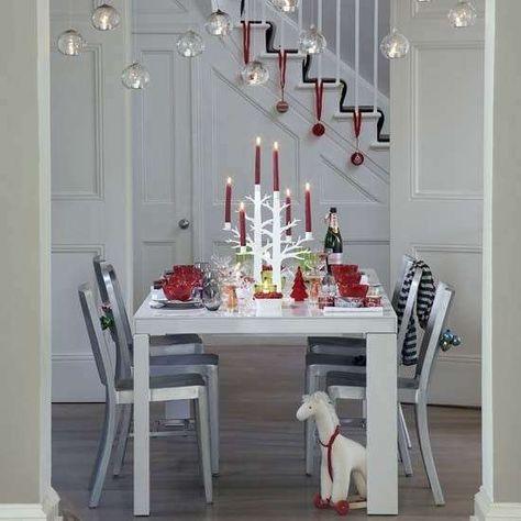 Arredare Casa A Natale Decorare Scale Arredamento Casa E Idea