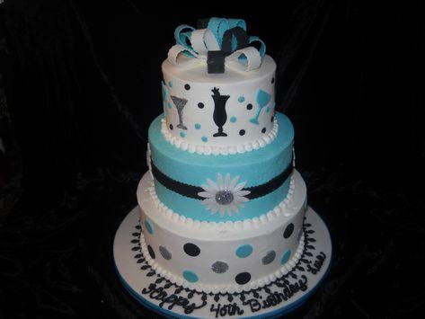 Birthday Cake Ideas For Women Turning 40