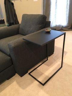 Slim Round C Table In Natural Steel Modern End Tables Modern Living Room Furniture Room Board Modern Furniture Living Room Furniture Modern End Tables Room and board side table