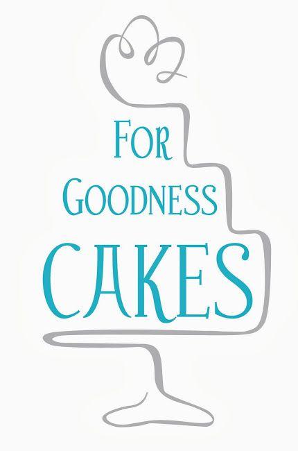 Cake logo - For Goodness Cakes - Great logo design
