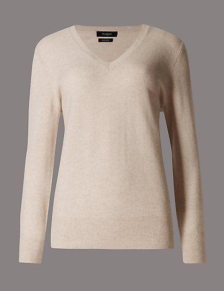 b0e44233dc8 Pure Cashmere V-Neck Jumper | clothes | Cashmere, Cashmere sweaters ...
