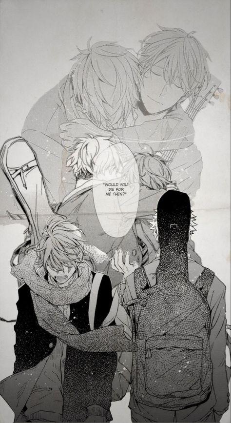 Given Wallpaper Mafuyu and Yuki Sad