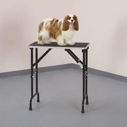 Able Foldable Grooming Table Adjustable Height Table Adjustable Table Dog Grooming