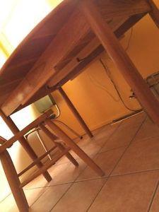 Vintage Solid Teak Table