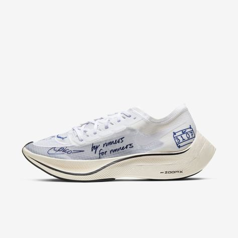 Nike ZoomX Vaporfly NEXT% BRS Running Shoe (White) in 2020