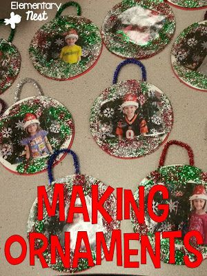 Christmas Gifts For Parents From Students.Making Ornaments December Activities Picture Christmas