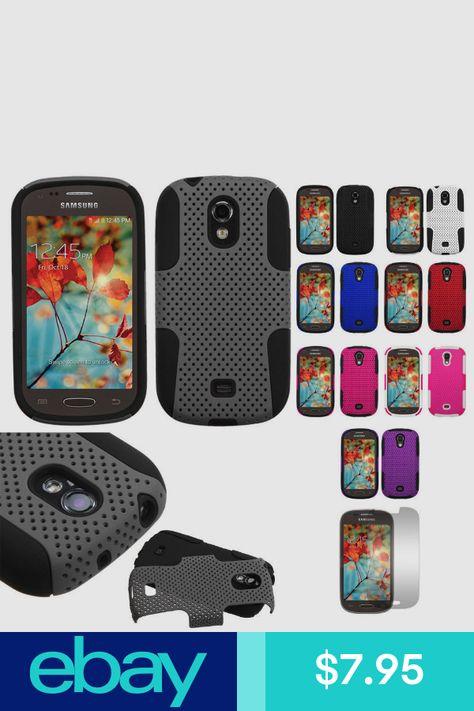 Samsung Galaxy Light T399 Hybrid Mesh Case Skin Cover Metro T