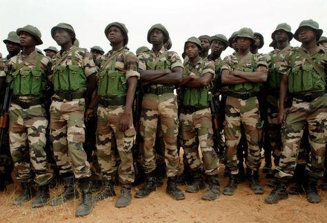 Nigerian Army Decimates Boko Haram Bomb Factory In Borno INFO - army form