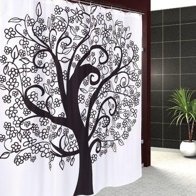 East Urban Home Tree Of Life Single Shower Curtain Fabric Shower