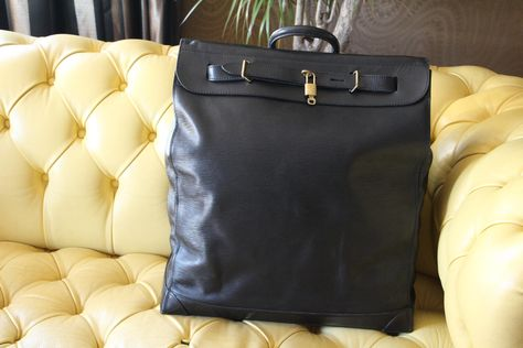 716f71ca38d7 Louis Vuitton Steamer Bag Epi Leather