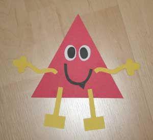Resultados De La Busqueda Imagenes Google Allkidsnetwork Crafts Shapes Images Triangle Shape Monster Craft