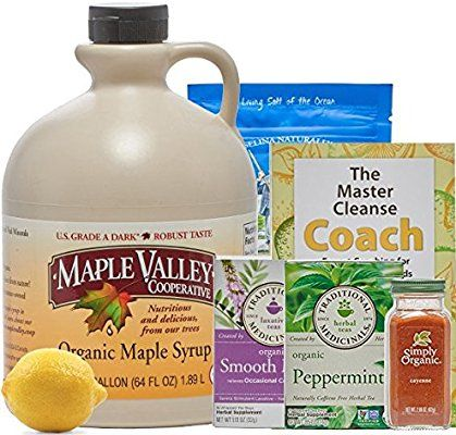 Amazon Com Maple Valley 10 Day Organic Master Cleanse Lemonade