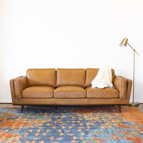 Enjoyable Klein 3 Seat Leather Sofa Theyellowbook Wood Chair Design Ideas Theyellowbookinfo