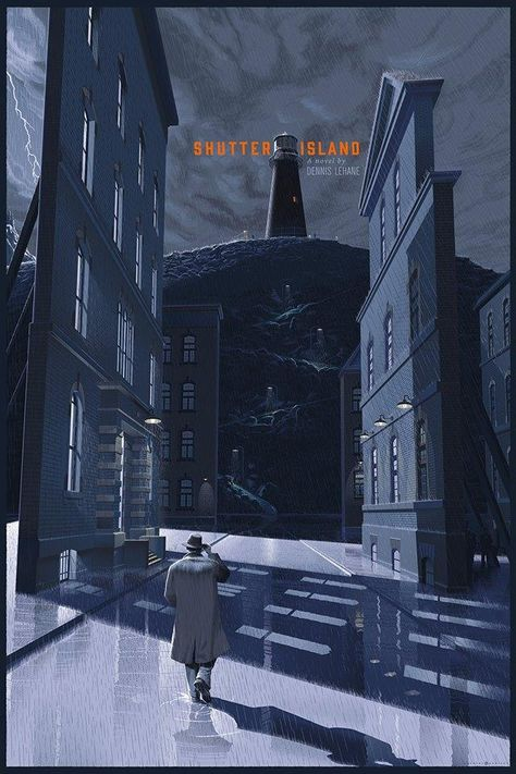 Shutter Island by Laurent Durieux *