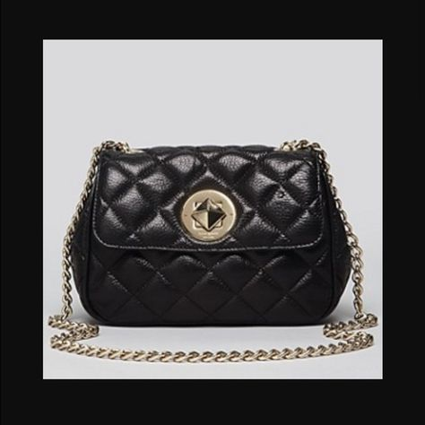 f78d73e5fd Kate Spade Gold Coast Christy Crossbody in Black Gently used ...