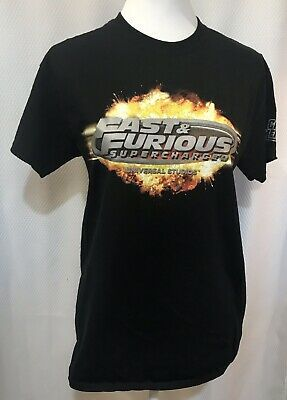 Halloween Horror Nights Team Member Preview 2020 Universal Studios M UOTM Shirt Fast & Furious Supercharged CREW