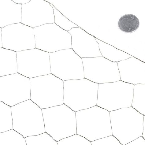 2 Inch X 4 Ft X 25 Ft 20 Gauge Poultry Netting Fencer Wire