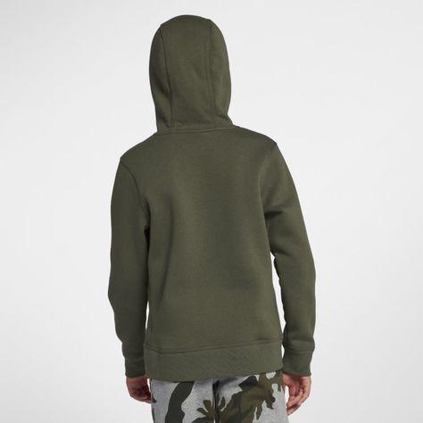 tiendas populares nuevo concepto una gran variedad de modelos Nike YA76 Brushed Fleece Pullover (8y-15y) Older Boys'Hoodie ...