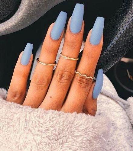 26 Cute Matte Nail Art Designs And Ideas You Ll Love Best Acrylic Nails Nail Designs Trendy Nails