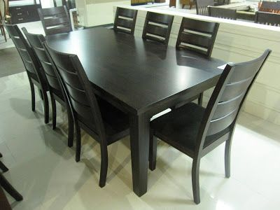 Mandaue Foam Wooden Dining Table And Chairs #chairs #wood #kitchentable |  Kitchen Tables | Pinterest | Wooden Dining Tables, Woods And Kitchens Part 19
