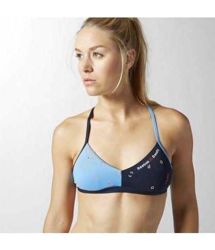 16e6ef1e88792 CrossFit Reebok Micro Bra Women s light green