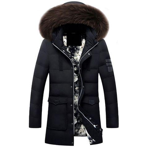 Homebaby Blouson Long rembourré en Coton pour Femme Manteau