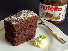 Simple But Tasty Recipes To Try For Everyone Who Likes To Cook Or Bake Birthday In 2020 Nutella Kuchen Backen Nutella Kuchen Rezept Kuchen Rezepte Einfach