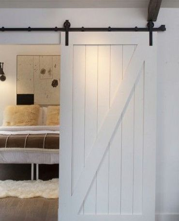 Barn Doors Z Brace White Painted Barn Door Bd004w Barn Style Doors Barn Door Making Barn Doors