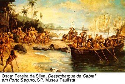 A Chegada Dos Portugueses Ao Brasil Com Imagens Colonizacao Do