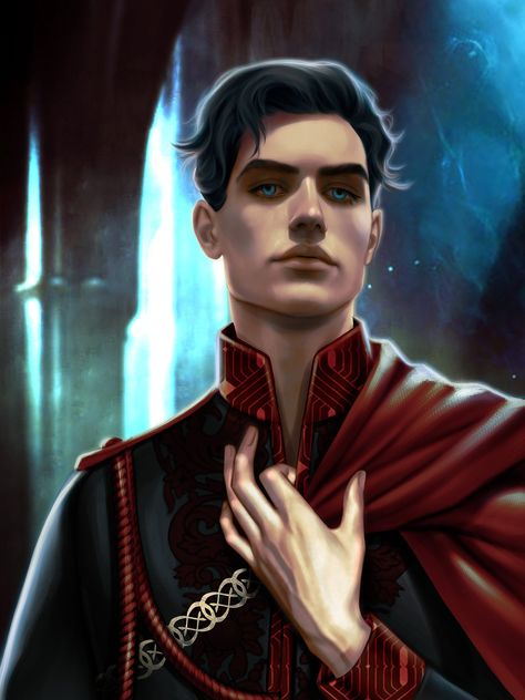 How I pictured Dorian from Throne of Glass but it's not him. *Sigh* Hey guys painted Maven Calore from Red Queen book Series by This piece was commissioned by hope you… <<<I'm still putting it under Sarah J. Throne Of Glass Books, Throne Of Glass Series, Throne Of Glass Fanart, Red Queen Book Series, Red Queen Victoria Aveyard, Victoria Aveyard Books, Glass Sword, The Grisha Trilogy, Sarah J Maas Books
