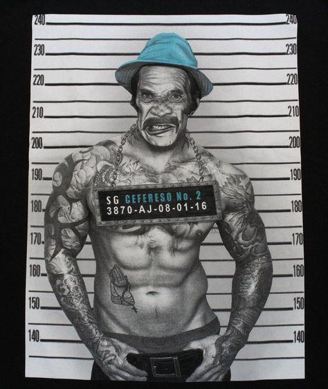 Don Ramon Mugshot Mexican Latino Mens Funny T-Shirt - tees geek