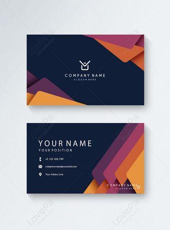 Modern Business Card Modern Business Cards Web App Design Business Cards