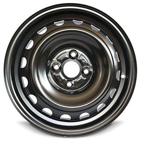 Road Ready 15 Steel Wheel Rim For 12 18 Toyota Prius 15x5 Inch Black 4 Lug Walmart Com In 2020 Toyota Prius Yaris Steel Rims