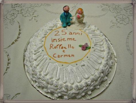 Anniversario Di Matrimonio 51 Anni.Torte Per Anniversario Di Matrimonio Con Panna Cerca Con Google