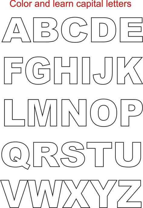 Capital Letter Alphabets 2017