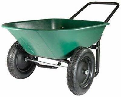 Wheelbarrows Carts And Wagons 75671 Green Thumb 70008 2 Wheel Poly Wheelbarrow Buy It Now Only 89 On Ebay Wh Wheelbarrow Garden Cart Wheelbarrow Garden