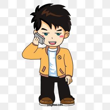 Call Boy Boy Clipart Cartoon Characters Illustration Png