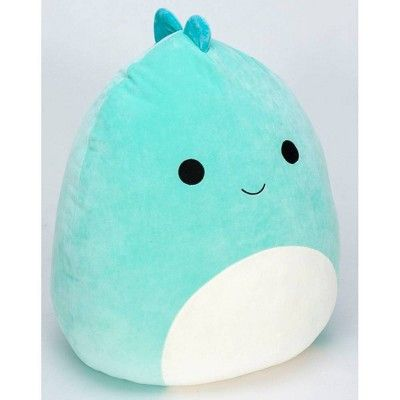 """Squishmallow Brody The Blue Dino 8/"""" Plush Pillow Toy by Kellytoy  NEW Free Ship"""