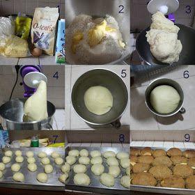 Dapurnya Rina Rinso Step By Step Membuat Roti Boy Versi Cheat Rotis Pembuat Roti Makanan Penutup