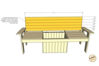 Super The Most Amazing Cooler Bench Ever Above Ground Pool Steps Gmtry Best Dining Table And Chair Ideas Images Gmtryco