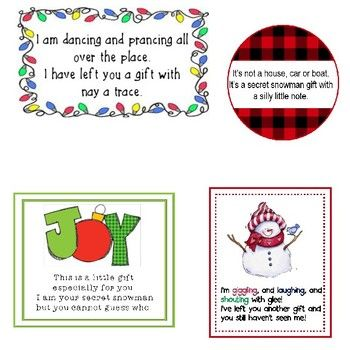 27++ Secret santa gift tags inspirations