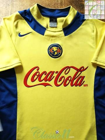 innovative design ade08 071d9 Official Nike Club America home football shirt from the 2005 ...