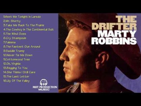 Marty Robbins GREATEST HITS    Album The Drifter    Best songs of Marty Robbins - YouTube