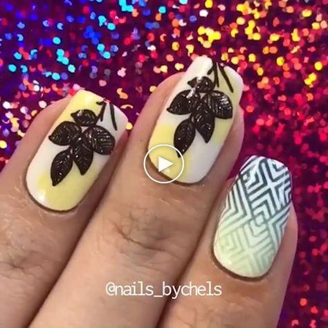 CUTE NAIL ART #stampnailart #nailart #nails #cutenails #cutenailart #nailideas - webcrochet.com