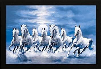7 White Running Horses Hd Wallpaper Horse Painting Horse Wallpaper Horse Wall Art Canvases